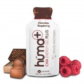 HUMA Plus Гель энергетический Chocolate & Raspberry с кофеином